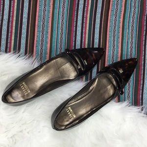 STUART WEITZMAN pointed toe Mary Jane flats